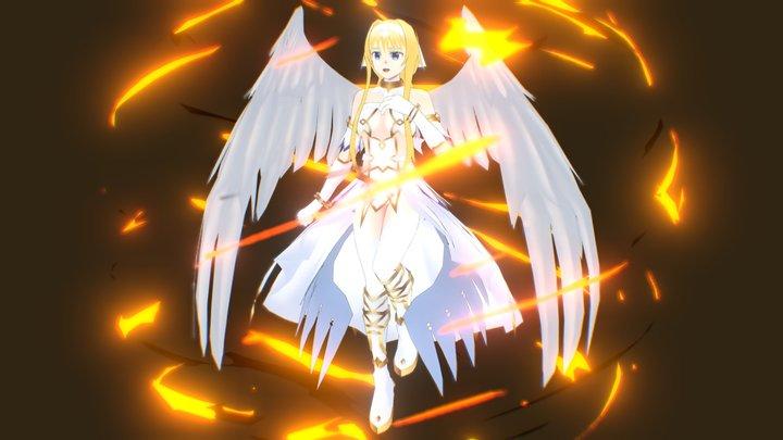 Sword Art Online Alicization - Alice Zuberg 3D Model