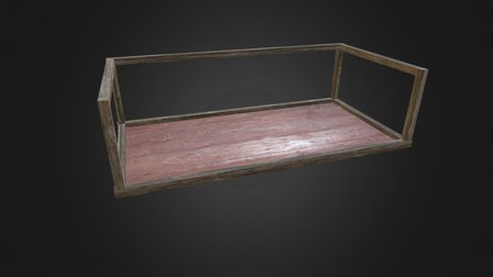 Log Holder (Wood) 3D Model