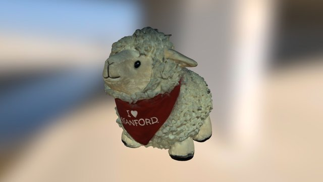 Standford sheep 3D Model