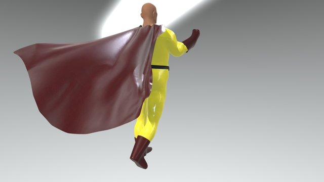 One punch 3D Model