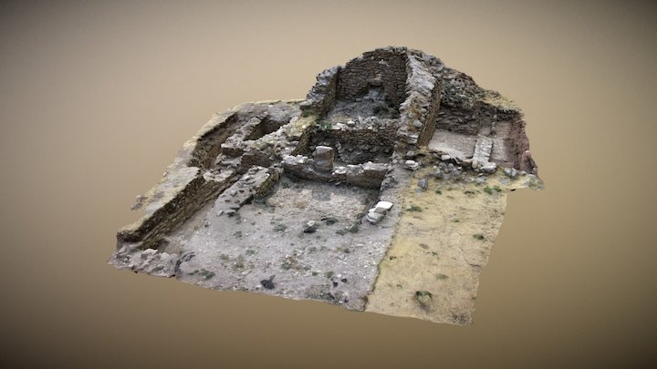 Scavo archeologico 3D Model