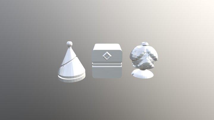 Mesh Modeling Exercise 3D Model