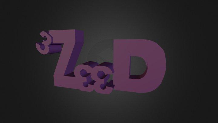 3Zeed_logo 3D Model
