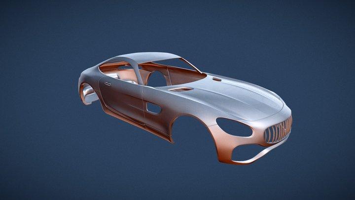 Mercedez BenzAMG (3D Printing) 3D Model