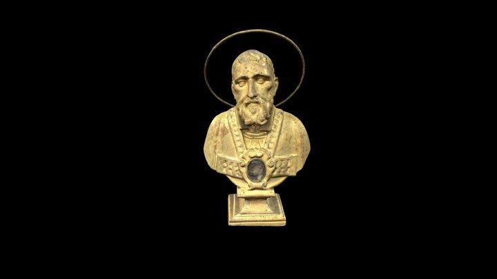 (2) Busto reliquiario / Reliquary bust 3D Model