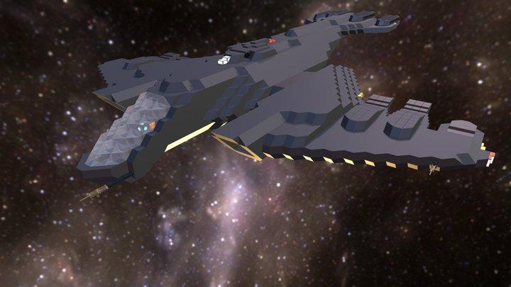 Scoot Heavy Dropship 3D Model