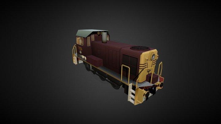 NSWGR 70 Class Diesel 3D Model
