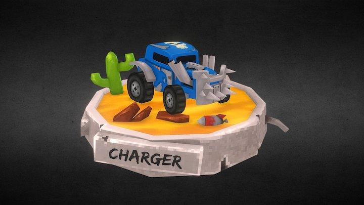 Desert Charger 3D Model