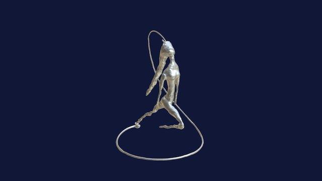3D scan of Dancer sculpture using EinScan-Pro 3D Model