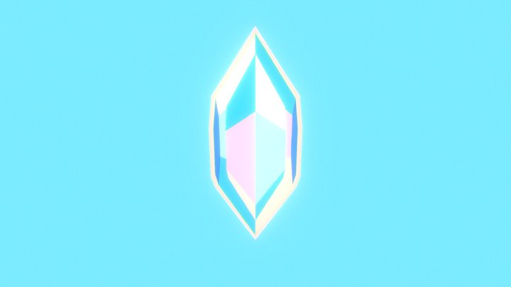 Little Crystal 3D Model