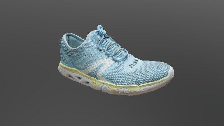 Dirty Gym Shoe 3D Model