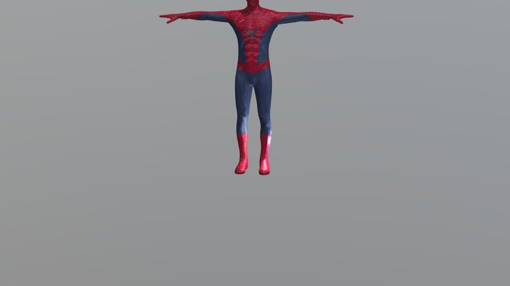 The Amazing Spider Man 2 Movie Model 3D Model