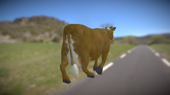 Cow NPC - Now free to download 3D Model