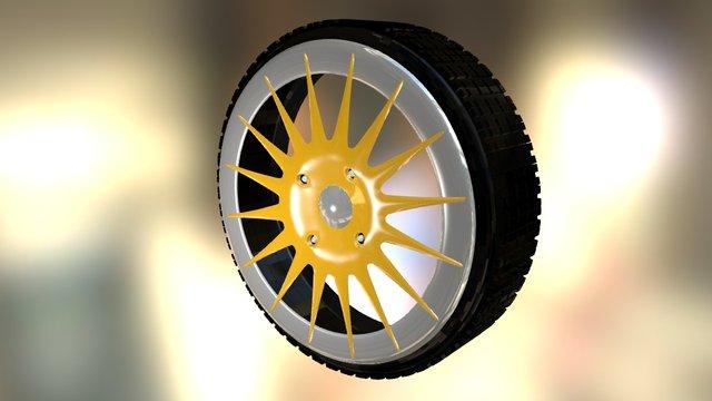 Wheel Assignment 3D Model