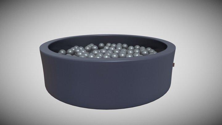 Snugo Motiv Bällebad - Sugarcane 3D Model