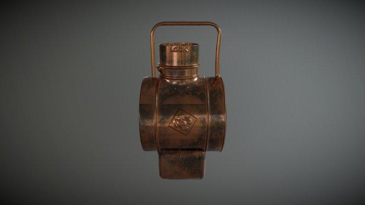 Lampe mine 3D Model