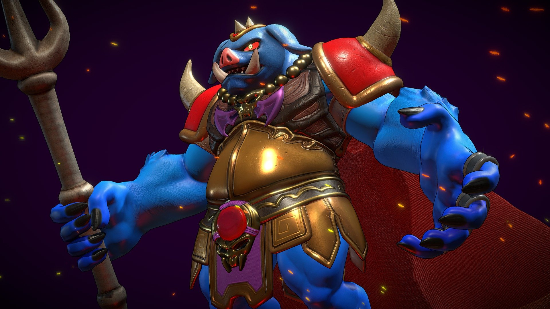 Ganon Oracle Of Ages Retrogasm2019 3d Model By