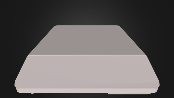 induction_stove 3D Model