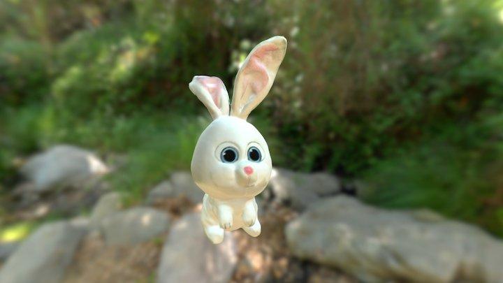 Easter Rabbit - Artec EVA 3D Model