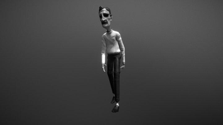 Anim Test 02 3D Model