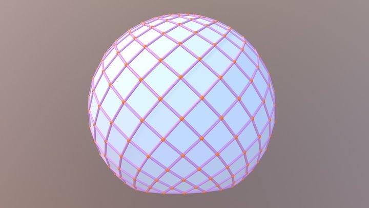Amazon Lamella 3D Model