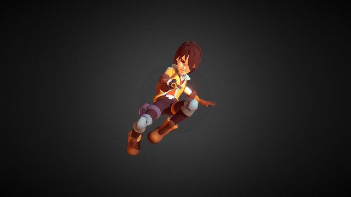 Drake - Stylized RPG Character 3D Model