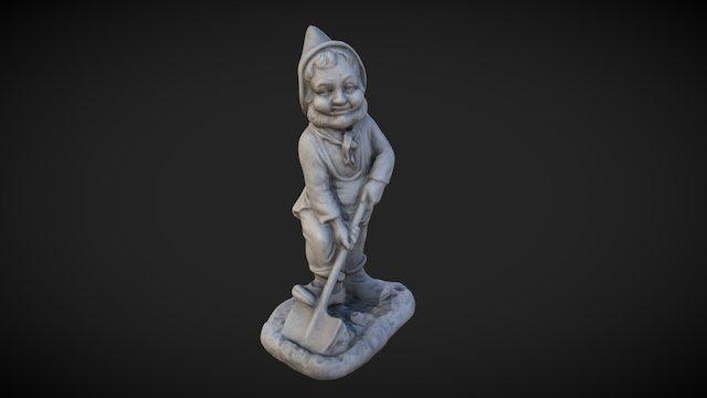 Dwarf Statue Scan 3D Model