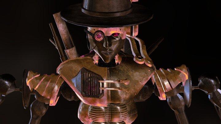 Sir Steam  3D Model