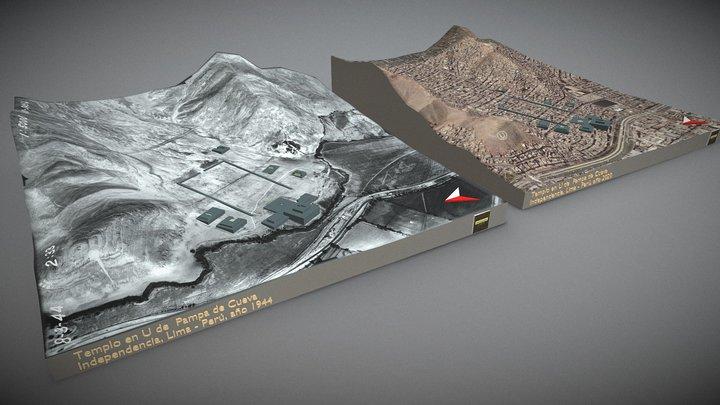 Pampa de Cueva 3D Model