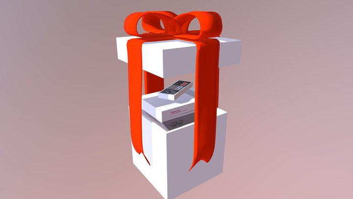 3DECEMBER DAY 16: GIFTS 3D Model