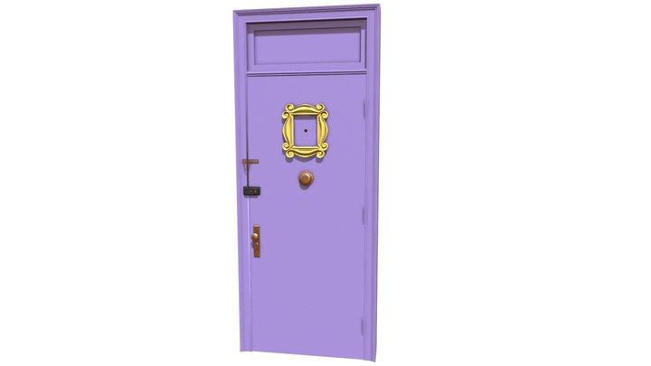 Friends Door 3D Model