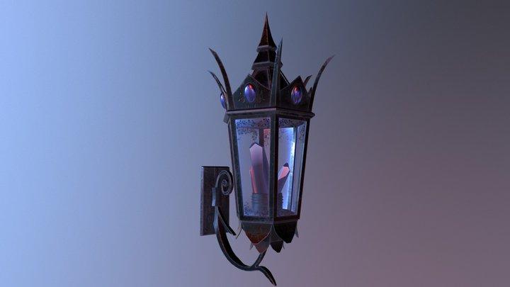 Fantasy Lantern 3D Model