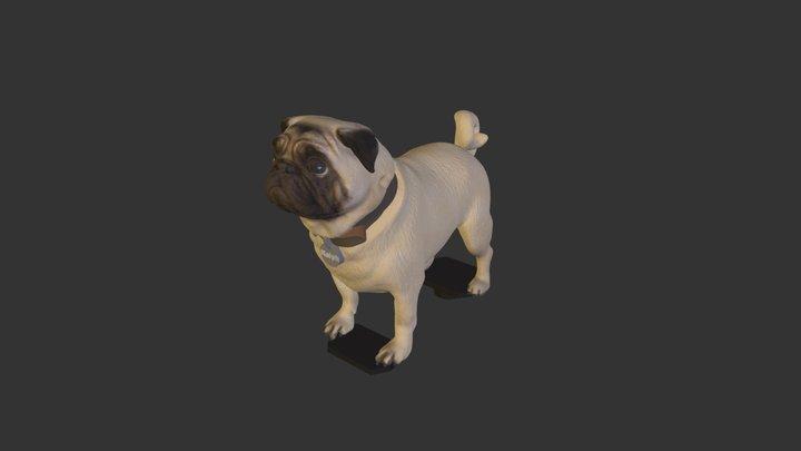 Ralph Pug 3D Model