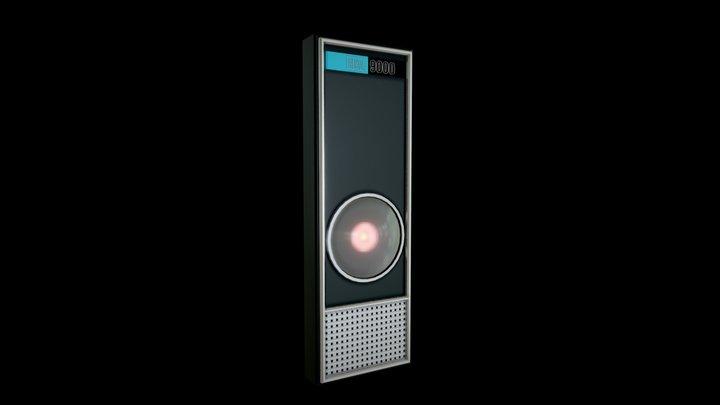 Hal 9000 3D Model