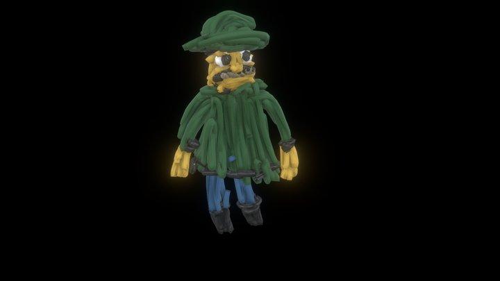 Oldman 3D Model