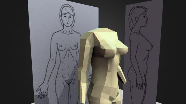 Figure Study 3D Model