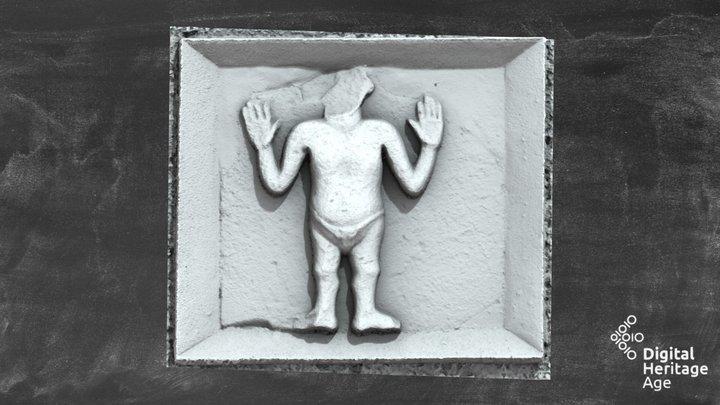 Oran - Stone Sculpture - ME011-025001- 3D Model