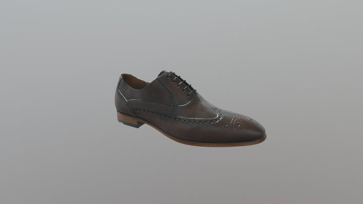 Leather_Brown_PalermoCalfP16 3D Model
