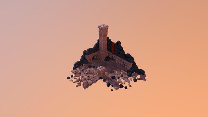 Dungeon Environment 3D Model