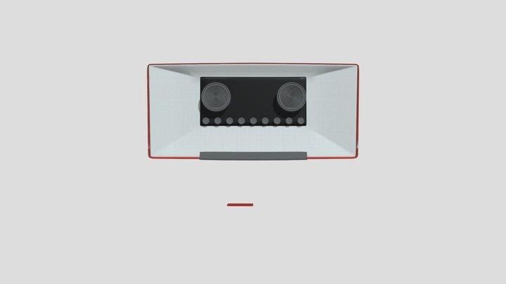 Medion Radio 3D Model