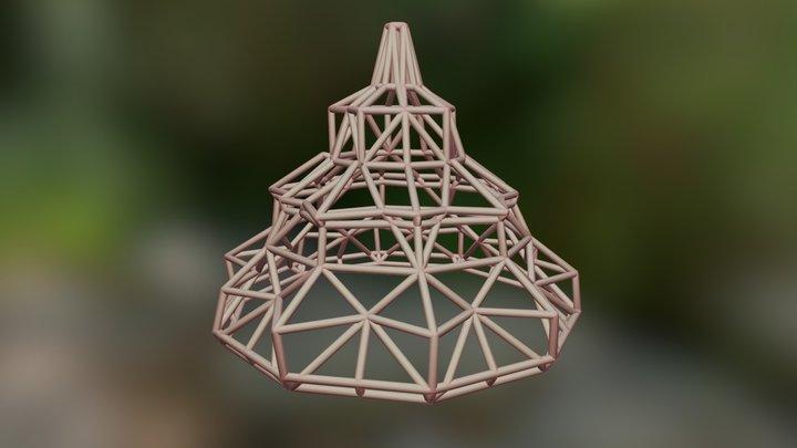 Low poly light - 3D printable 3D Model
