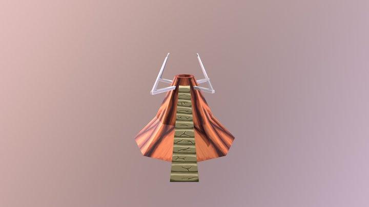Upgraded Volcano 3D Model