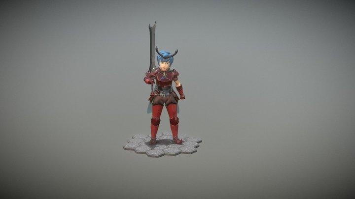 Alyx Beetle 3D Model