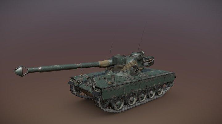 SK-105 Kürassier 3D Model