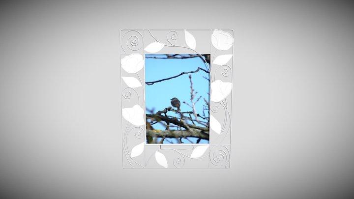 Cornice, Photographic frame 3D Model