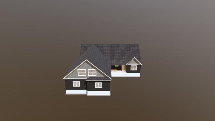 DOMBROWSKI LAKE HOME-5-6-21 3D Model