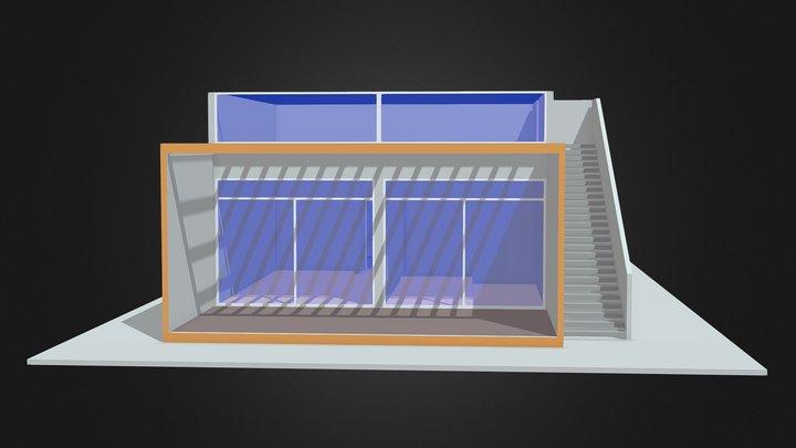 TSSC MASTER BEDROOM UNIT 3D Model