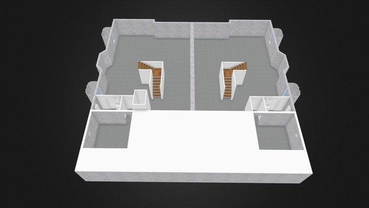 Indian Hills Duplex Basement 3D Model