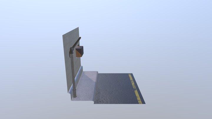 Alley way 3D Model