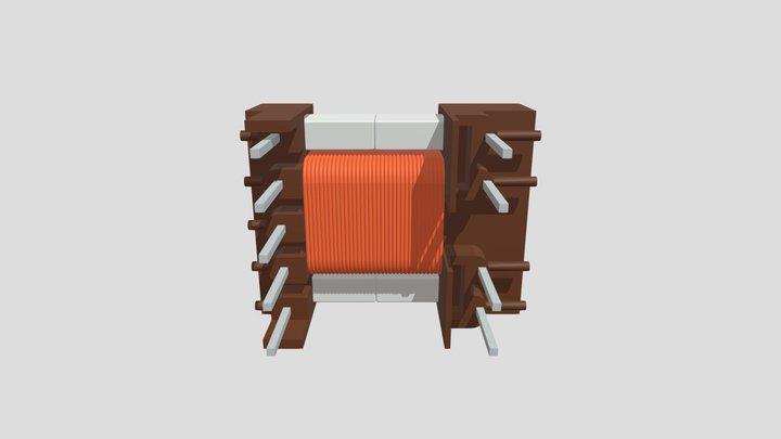 EF20-K-H-9P-7958 Zlozenie 3D Model